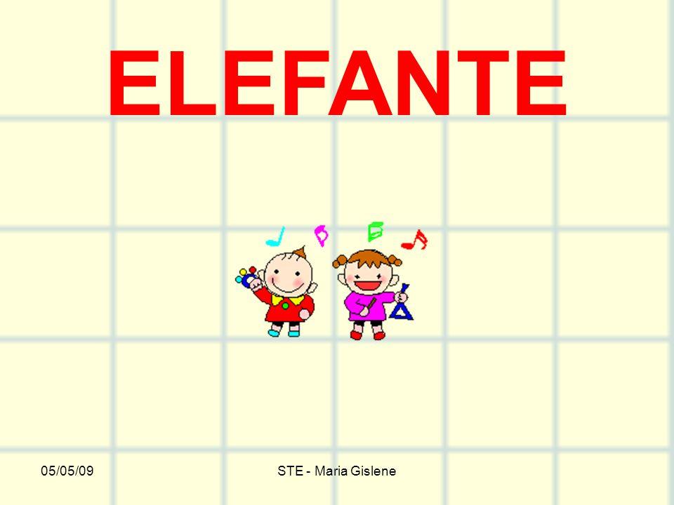 05/05/09STE - Maria Gislene ELEFANTE