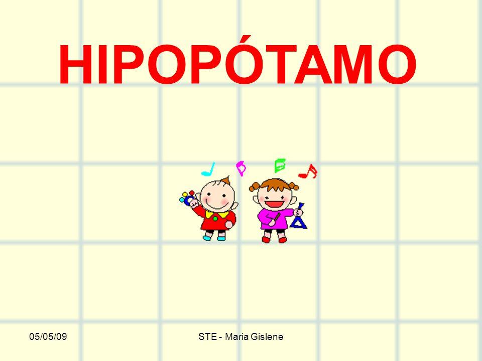 05/05/09STE - Maria Gislene HIPOPÓTAMO