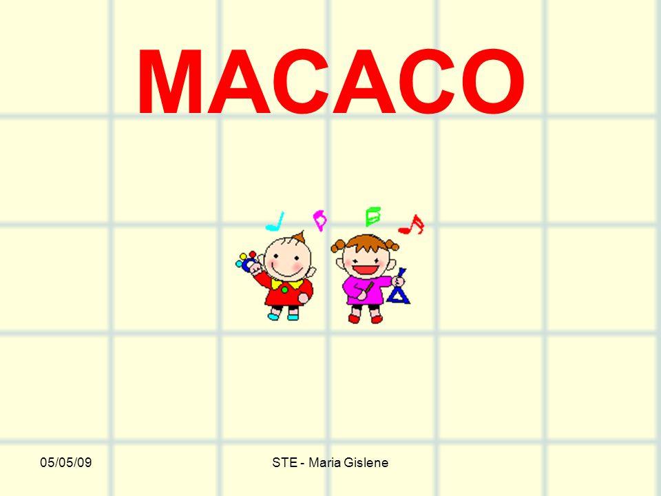 05/05/09STE - Maria Gislene MACACO