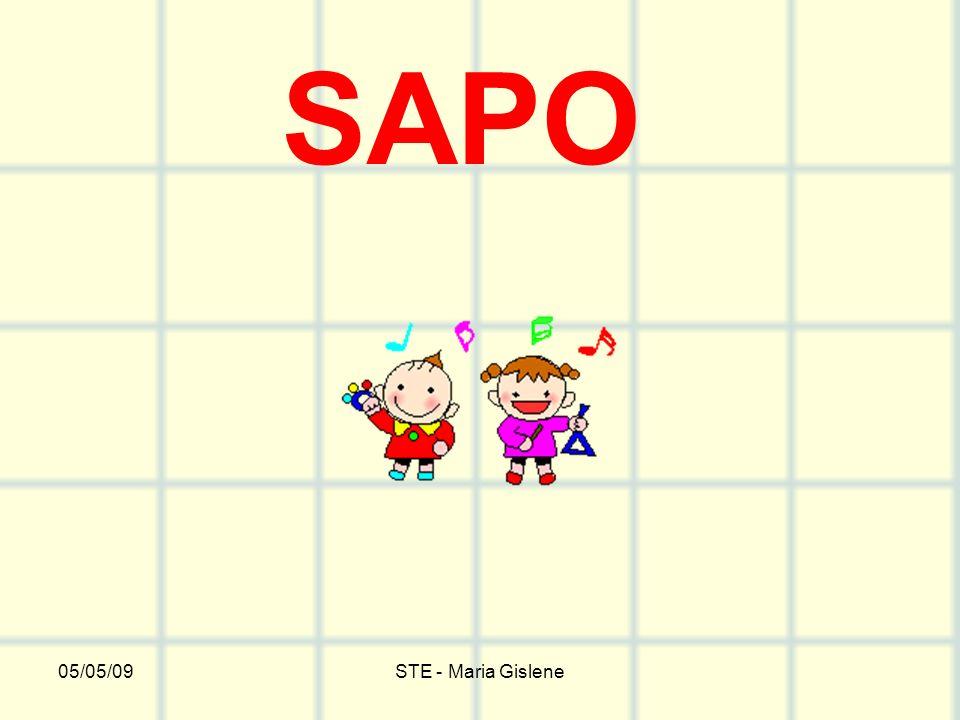 05/05/09STE - Maria Gislene SAPO