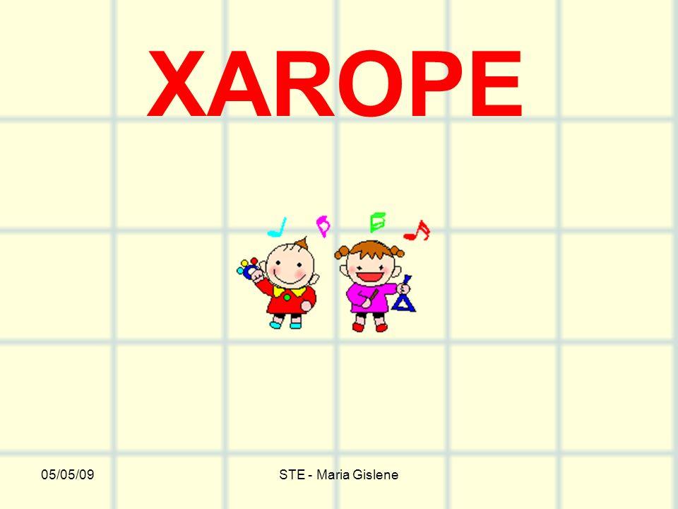 05/05/09STE - Maria Gislene XAROPE