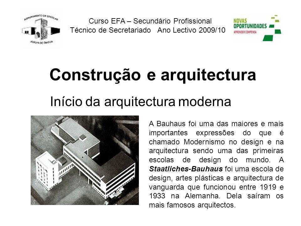 A Bauhaus foi uma das maiores e mais importantes expressões do que é chamado Modernismo no design e na arquitectura sendo uma das primeiras escolas de