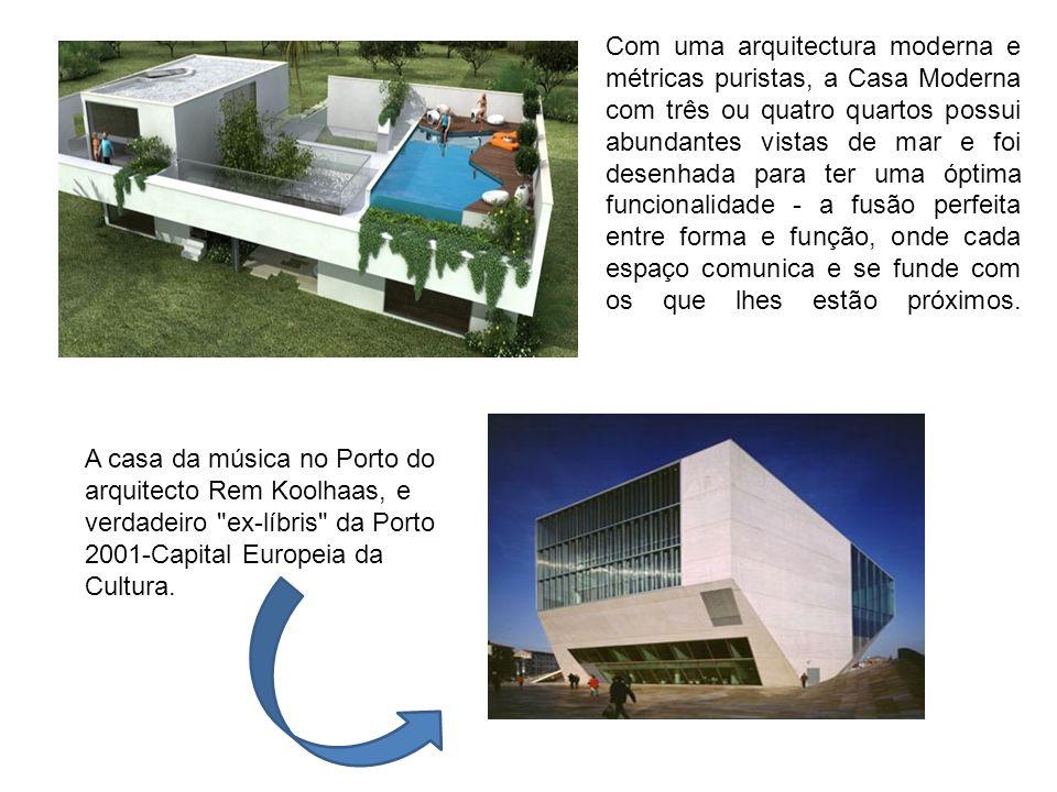 A casa da música no Porto do arquitecto Rem Koolhaas, e verdadeiro