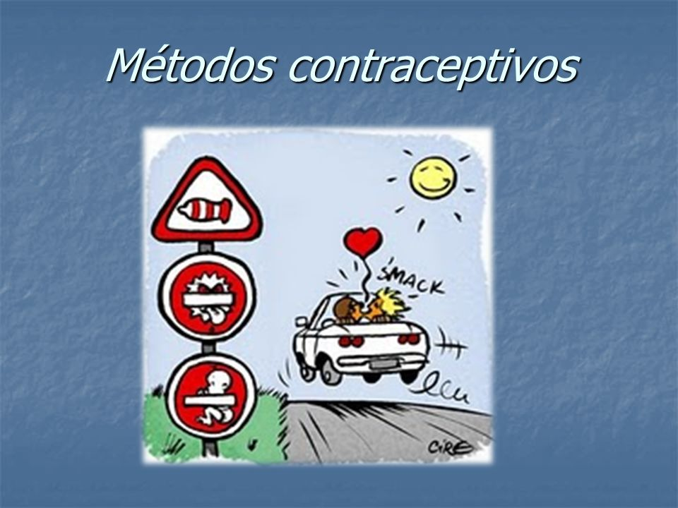 Quais os métodos contraceptivos que existem.