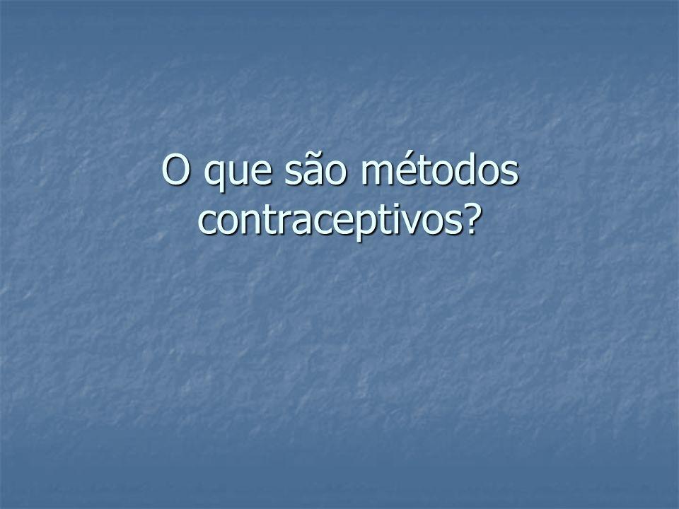 Métodos mecânicos Preservativo masculino: Preservativo masculino: O preservativo é um método de barreira contraceptivo usado por homens.