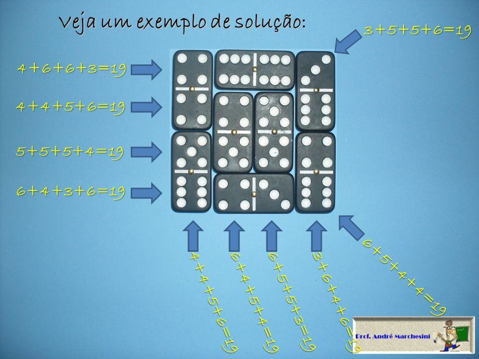 Para esse vale uma dica, tente montar sua solução usando as somas mágicas 7, 11 ou 15.