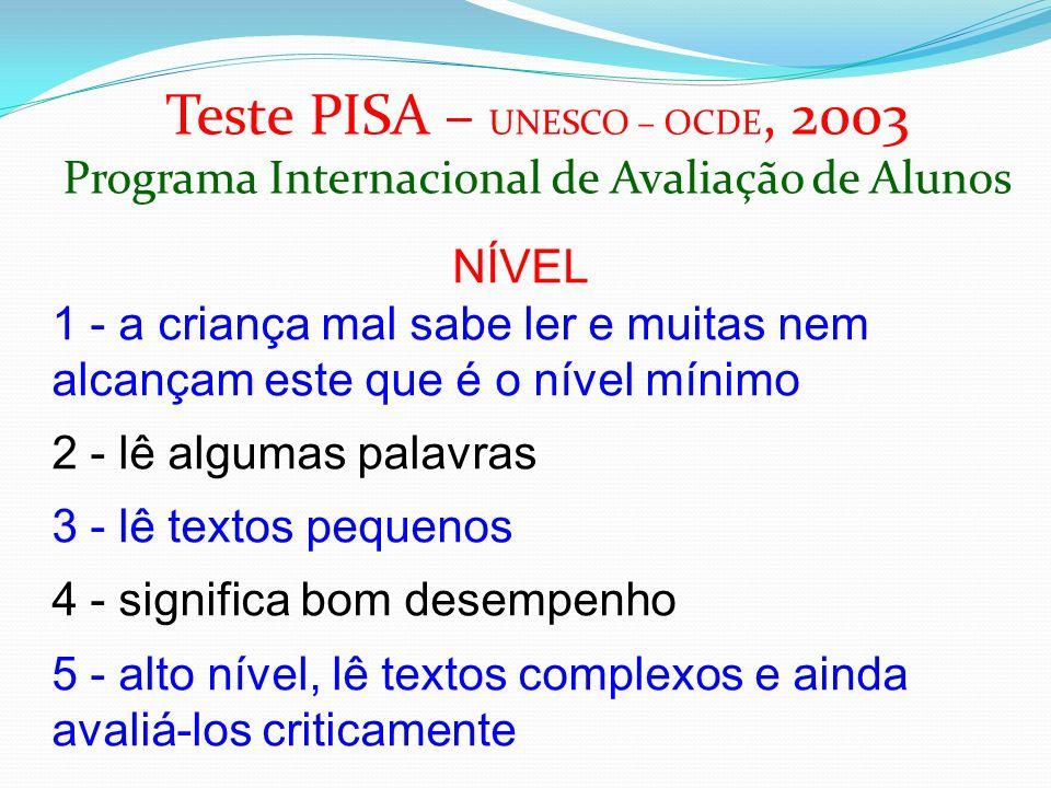 DADOS DA EDUCAÇÃO SUPERIOR OCDE - 2005