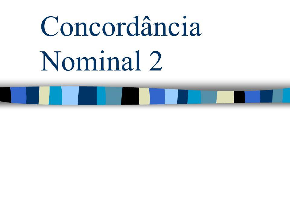 Concordância Nominal 2