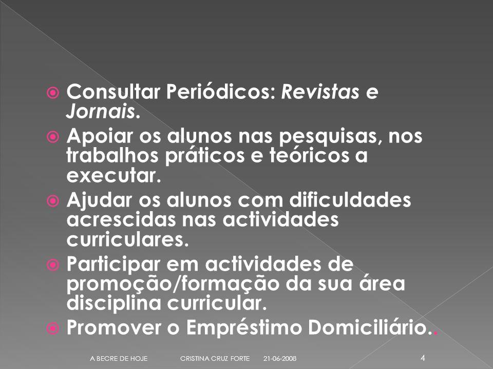 Consultar Periódicos: Revistas e Jornais.