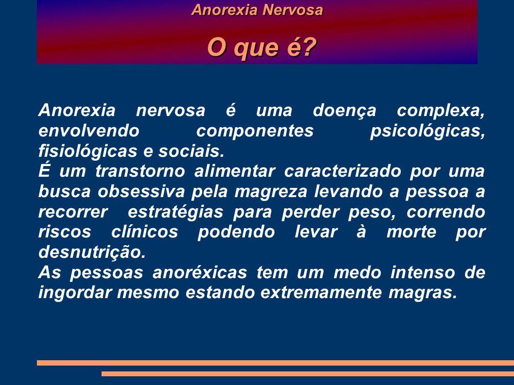 Anorexia Nervosa Como se origina.