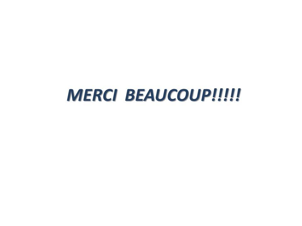 MERCI BEAUCOUP!!!!!