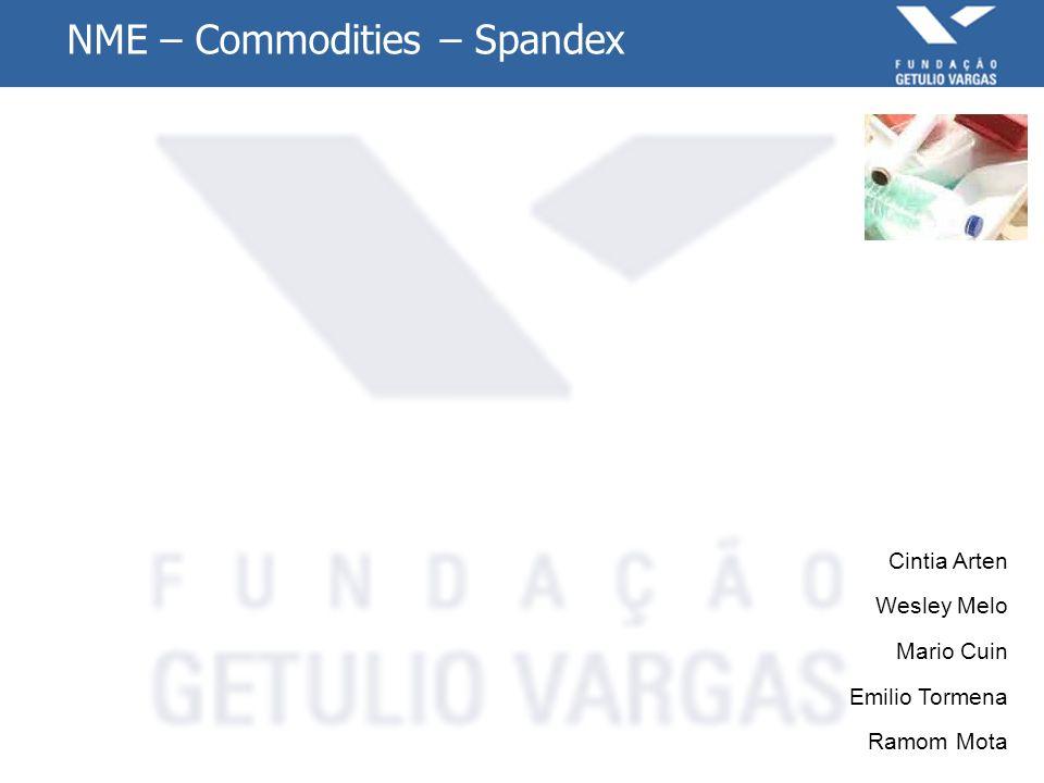 Matriz de Impacto e Incerteza – Spandex 6 Economia Atual: As vendas dos fios Spandex cresceram no ano de 2009 e esse cenário tende a continuar em 2010, pois o consumidor final associa as marcas que usam o fio Spandex a produtos de qualidade, conforto e durabilidade.