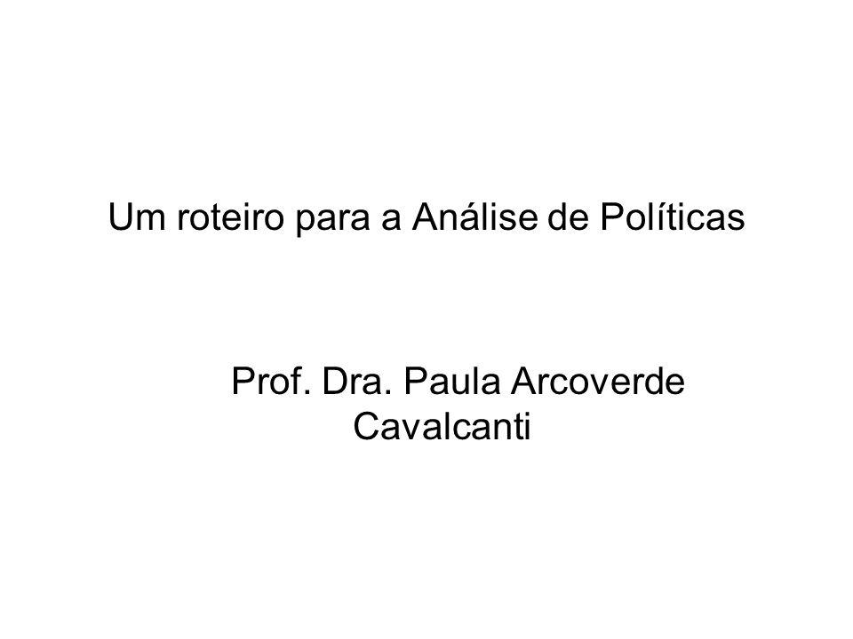 O CICLO DE ELABORAÇÃO DE POLÍTICAS FORMULAÇÃO IMPLEMENTAÇÃO AVALIAÇÃO