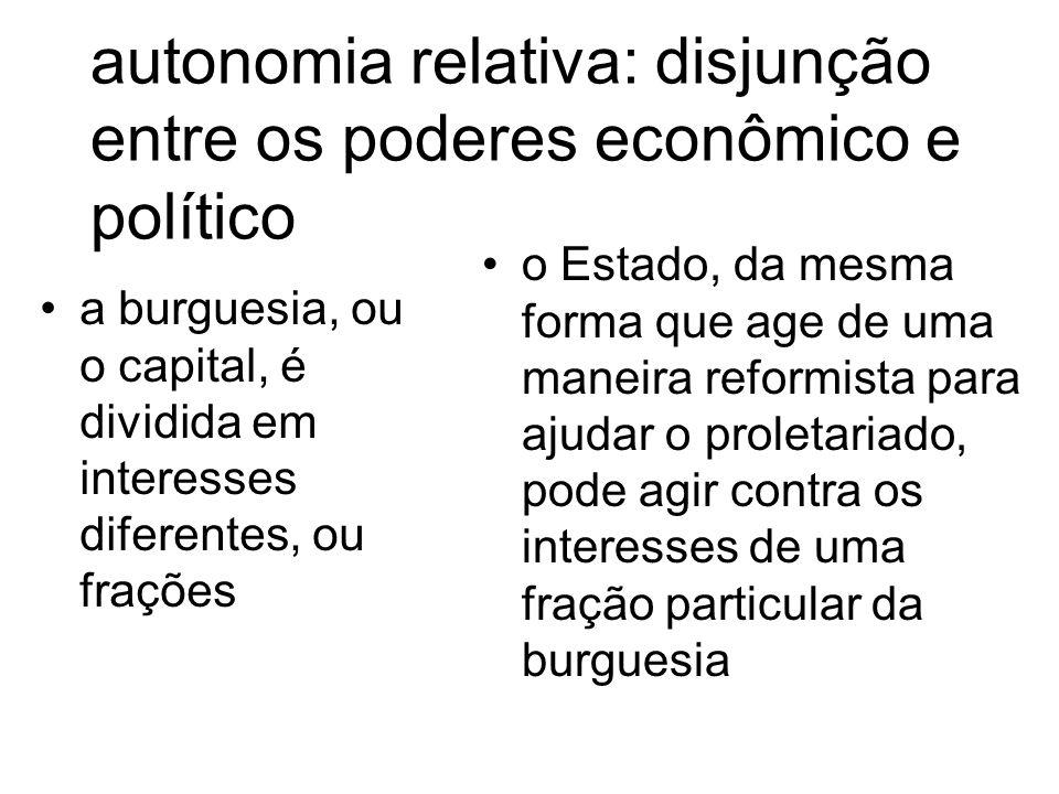 corporativismo mostra as mudanças econômicas nas sociedades industriais como tendo um significativo impacto no papel do Estado e na sua interação com