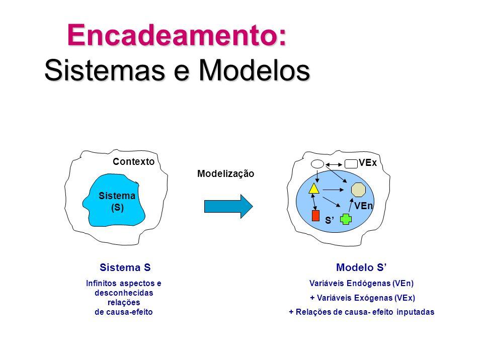 para apreender a realidade: MODELIZAÇÃO variáveis endógenas e exógenas relações de causalidade fatos estilizados comparações (diacrônicas esincrônicas