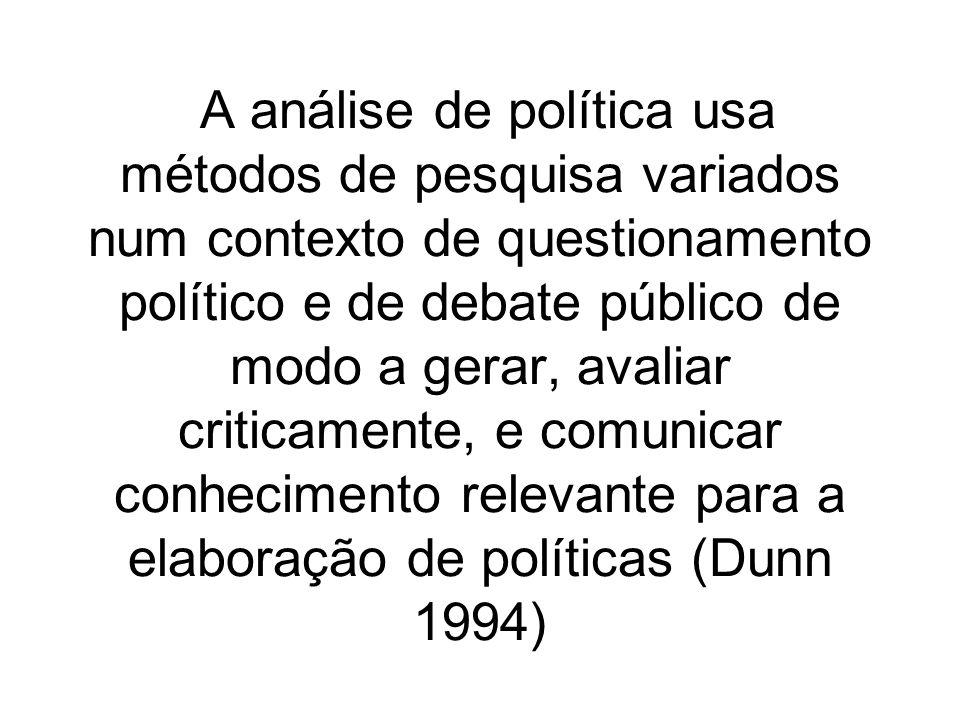 Visões do Estado e dos fatores sociais na explicação das políticas públicas os quatro principais corpos teóricos que lidaram com esta questão deram, todos, respostas centradas na sociedade