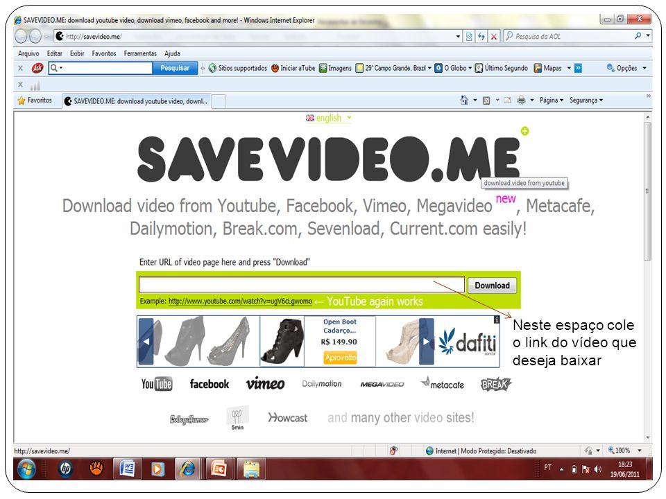 Veja um exemplo: Copie esse link Observe que você deve abrir uma nova aba.