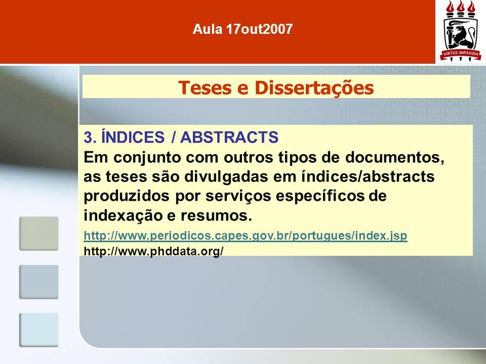 Teses e Dissertações 3.