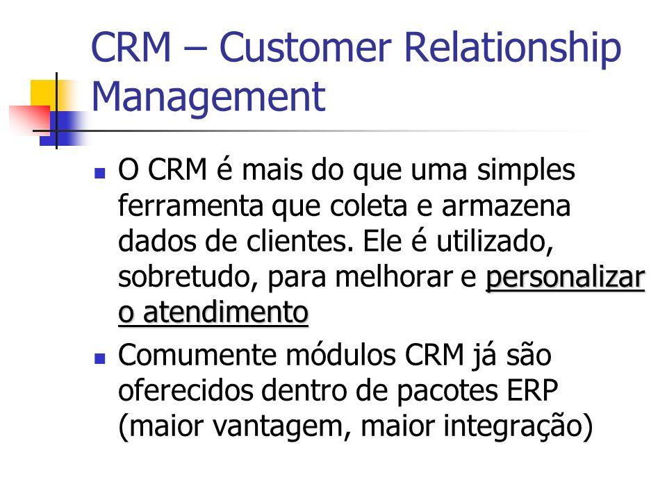 CRM – Customer Relationship Management personalizar o atendimento O CRM é mais do que uma simples ferramenta que coleta e armazena dados de clientes.
