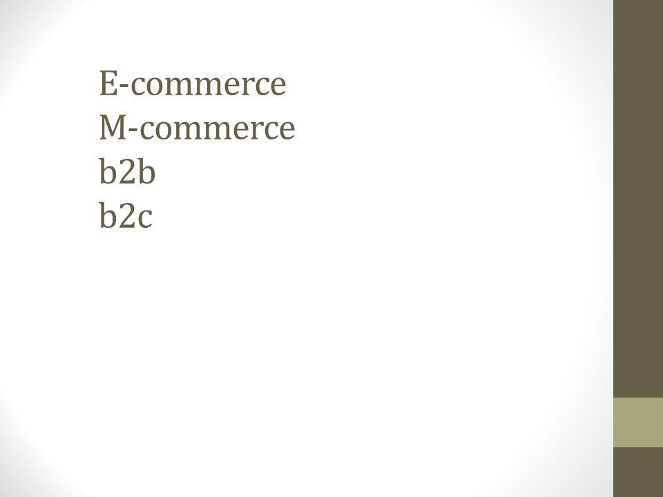 E-COMMERCE Conceito de e-commerce: E-Commerce provém de Electronic Commerce, que em português significa Comércio Eletrônico - termo usado para identificar um sistema comercial montado por uma empresa para atender aos seus clientes por meio de redes de computadores e mantido por uma infra-estrutura digital.