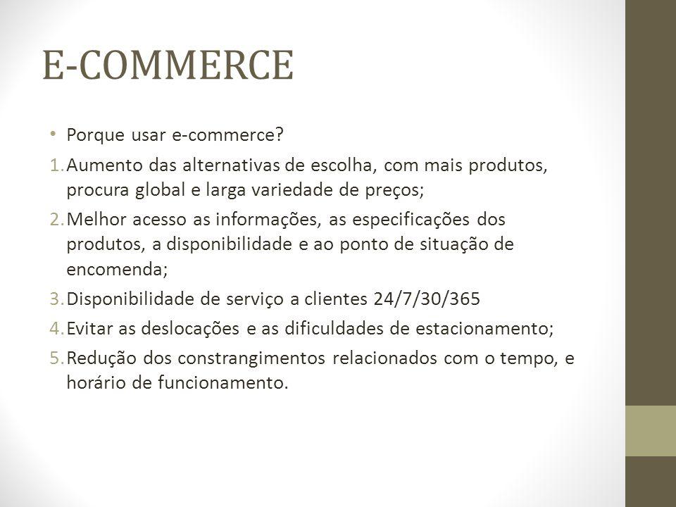 Utilizações do mCommerce Venda direta pelo celular.