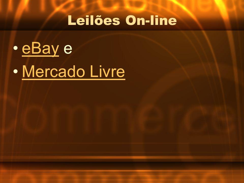 Leilões On-line eBay eeBay Mercado Livre