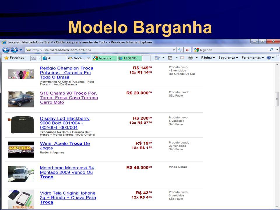 Modelo Barganha
