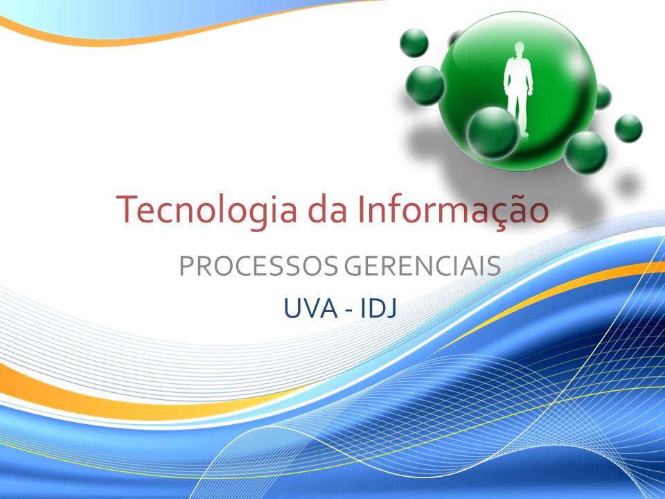 Tecnologia da Informação PROCESSOS GERENCIAIS UVA - IDJ