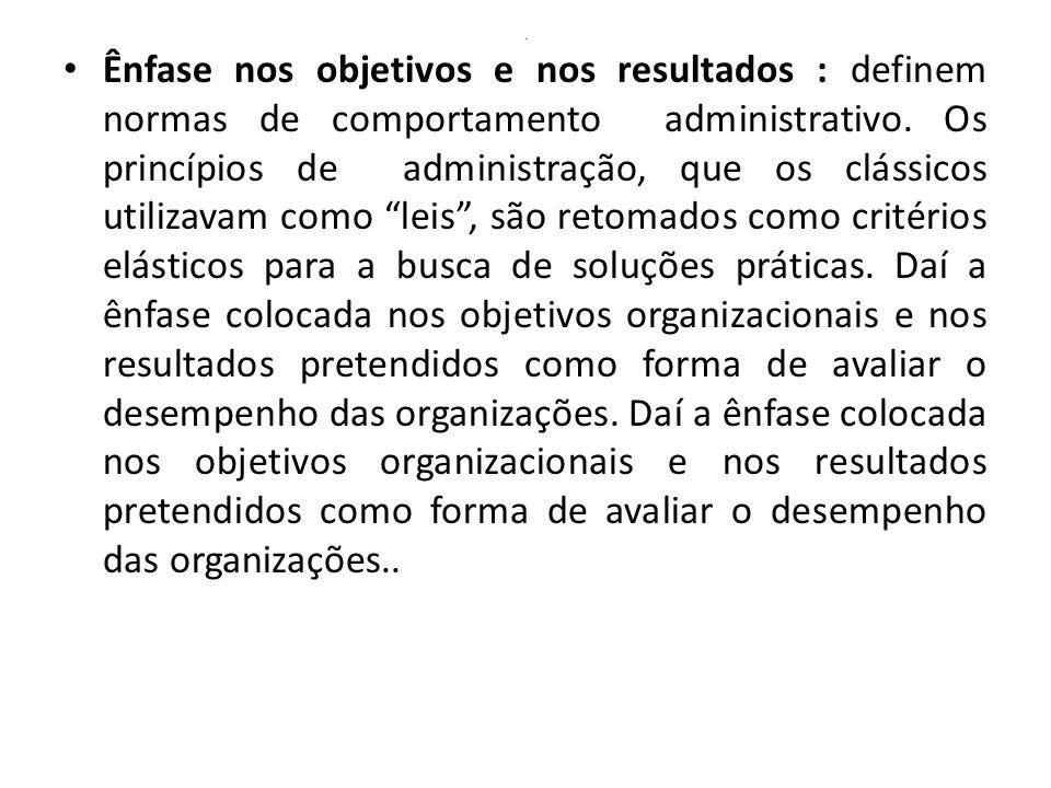 Dilemas da Burocracia – cont.