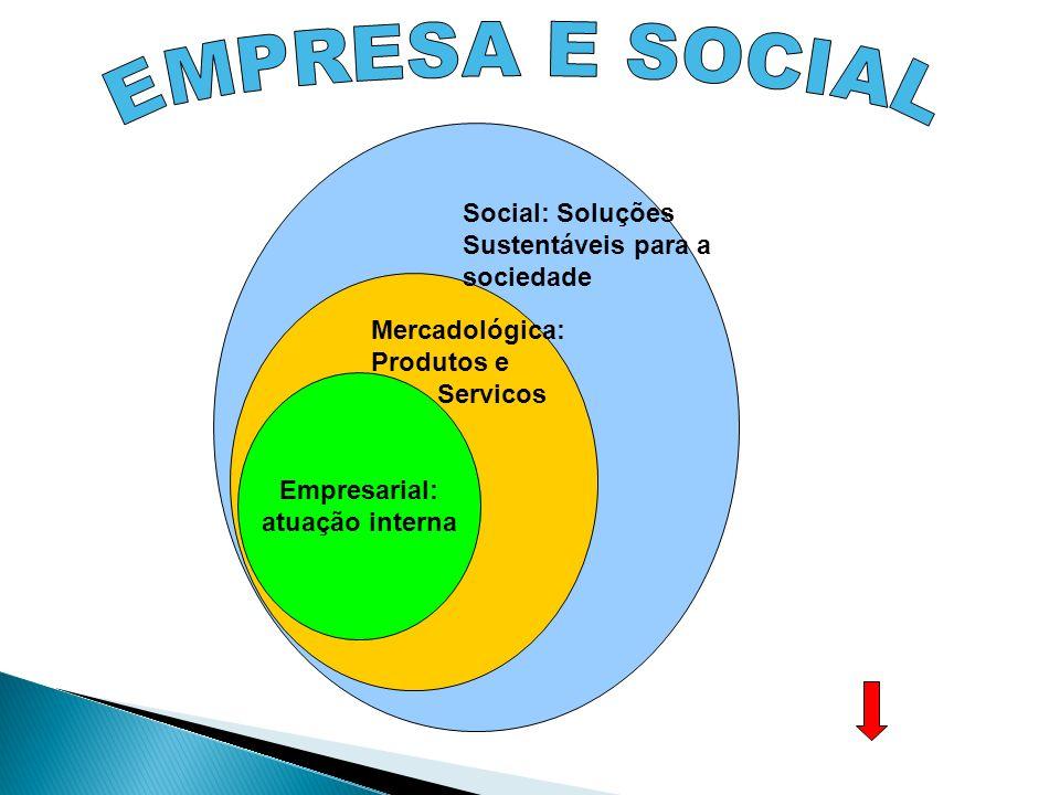 Responsabilidade Social é uma forma de conduzir os negócios da empresa de tal maneira que a torna parceira e co-responsável pelo desenvolvimento social.