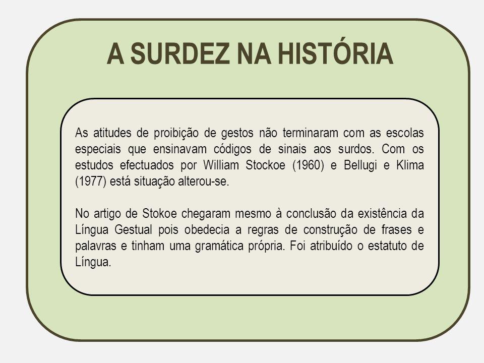 BIBLIOGRAFIA Afonso, C.(2008). Reflexões sobre a surdez.