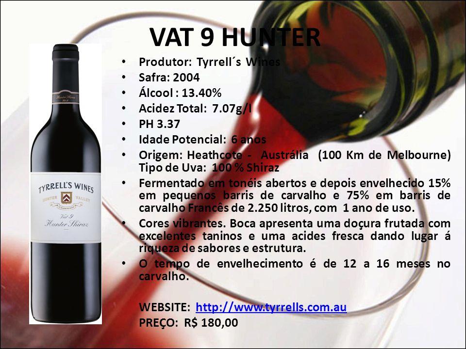 RUFUS STONE Cor: vermelho escuro a roxo, indicando a intensidade do vinho; Nariz: especiarias, aromas de frutas, blackberries maduros, e maderia dos barris Frnaceses e Americanos.