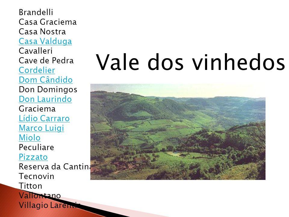 Brandelli Casa Graciema Casa Nostra Casa Valduga Cavalleri Cave de Pedra Cordelier Dom Cândido Don Domingos Don Laurindo Graciema Lídio Carraro Marco