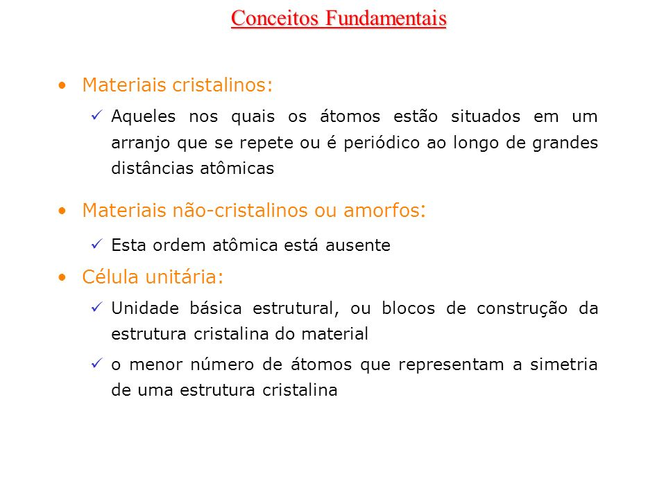 HCP FCC Estruturas Cristalinas Compactas