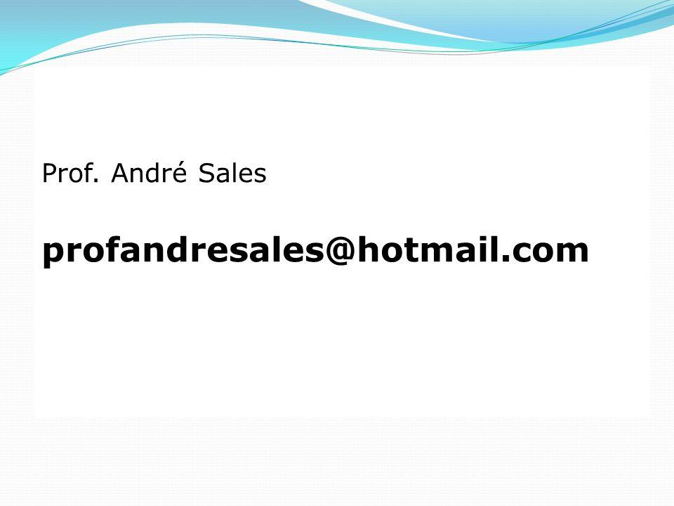 Prof. André Sales profandresales@hotmail.com