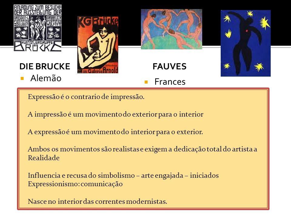 Movimento artístico e literário iniciado oficialmente em 1909 Publicação do Manifesto Futurista, Do poeta italiano Filippo Marinetti (1876-1944), no jornal francês Le Figaro.