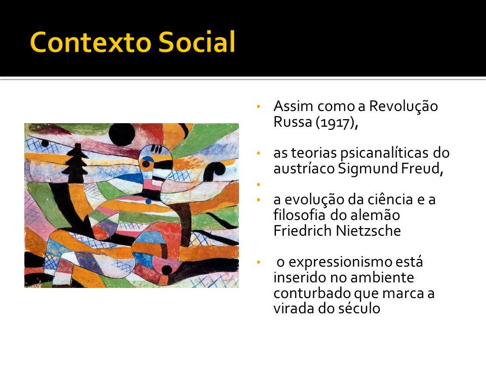 Assim como a Revolução Russa (1917), as teorias psicanalíticas do austríaco Sigmund Freud, a evolução da ciência e a filosofia do alemão Friedrich Nie