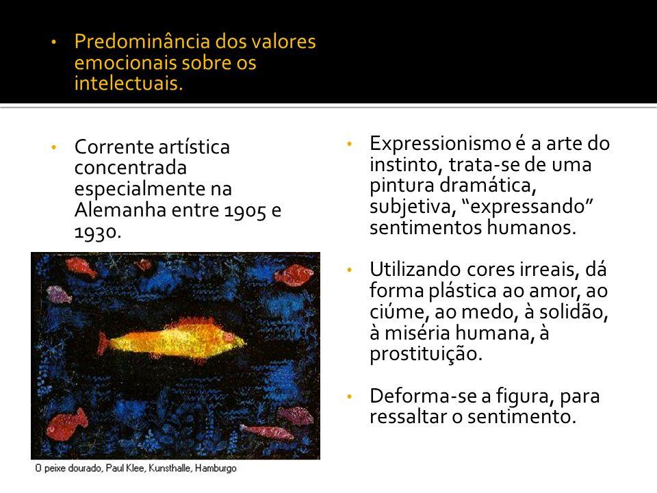 Kandinsky A arte abstrata tende a suprimir toda a relação entre a realidade e o quadro, entre as linhas e os planos, as cores e a significação que esses elementos podem sugerir ao espírito.