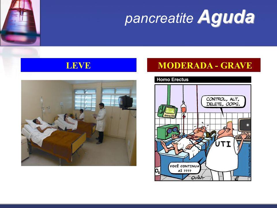 Aguda pancreatite Aguda LEVE MODERADA - GRAVE