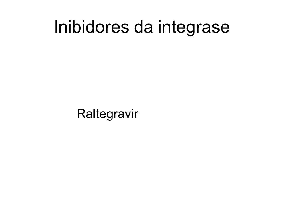 Inibidores da integrase Raltegravir