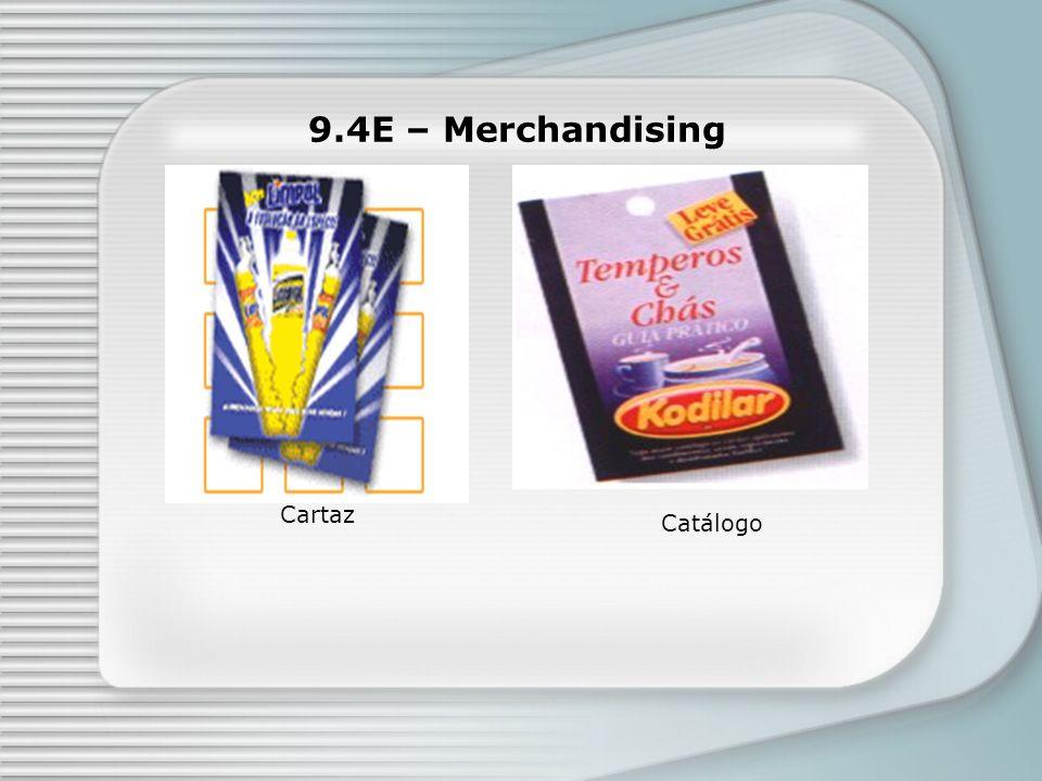 9.4E – Merchandising Catálogo Cartaz