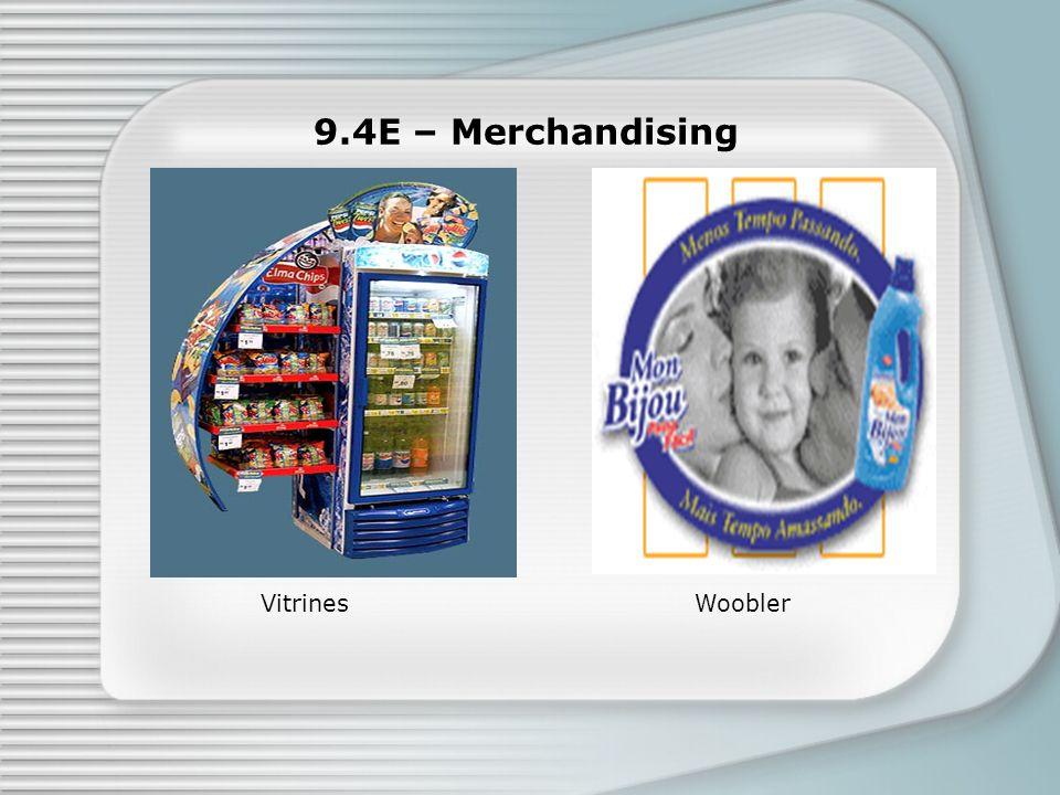 9.4E – Merchandising WooblerVitrines