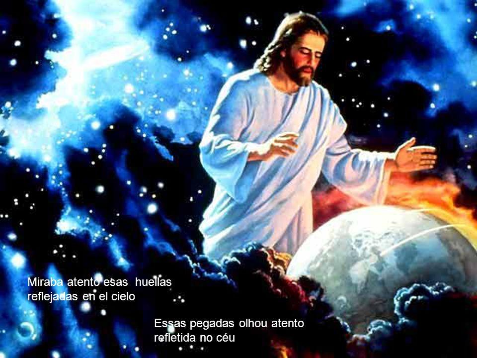 mientras con Jesús andaba como amigos conversando. Enquanto iamos conversando como amigos pela praia