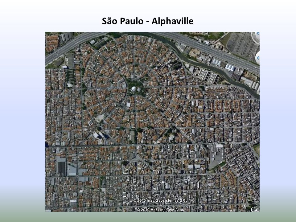 Crescimento desordenado: formação de bairros clandestinos onde os lotes são vendidos sem o conhecimento do poder público.