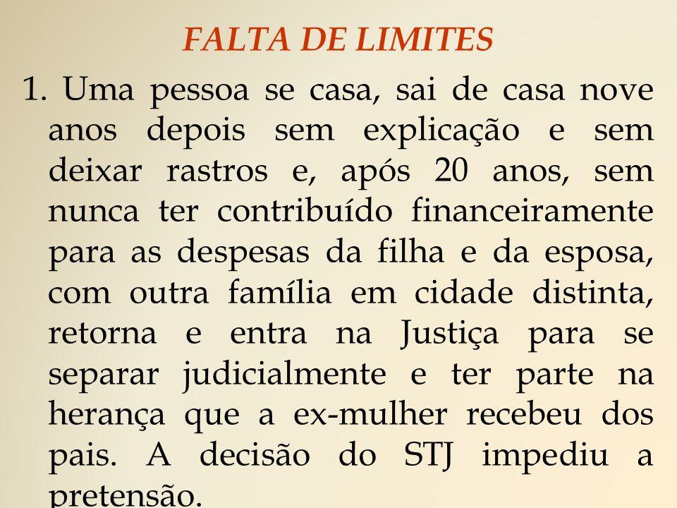 FALTA DE LIMITES 1.