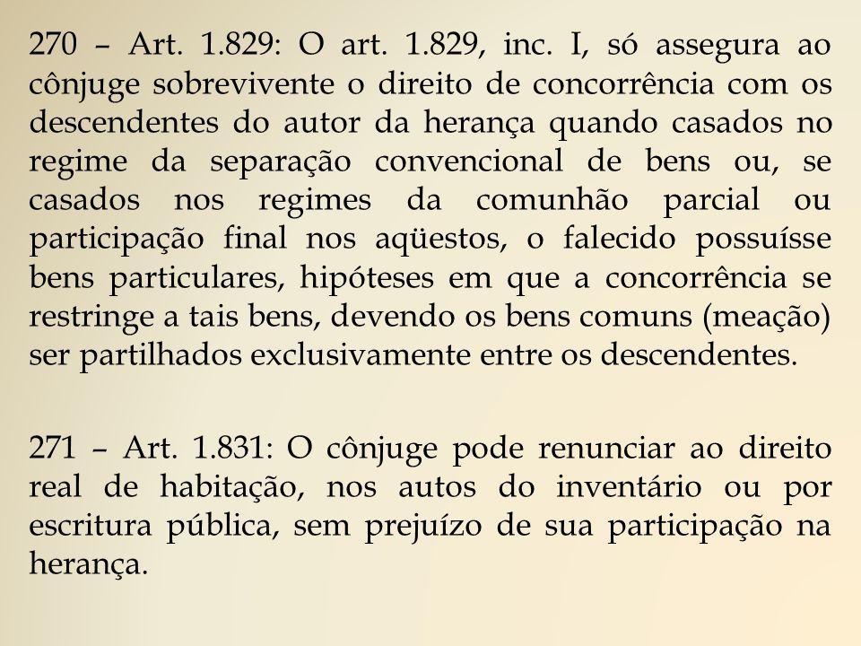 270 – Art.1.829: O art. 1.829, inc.