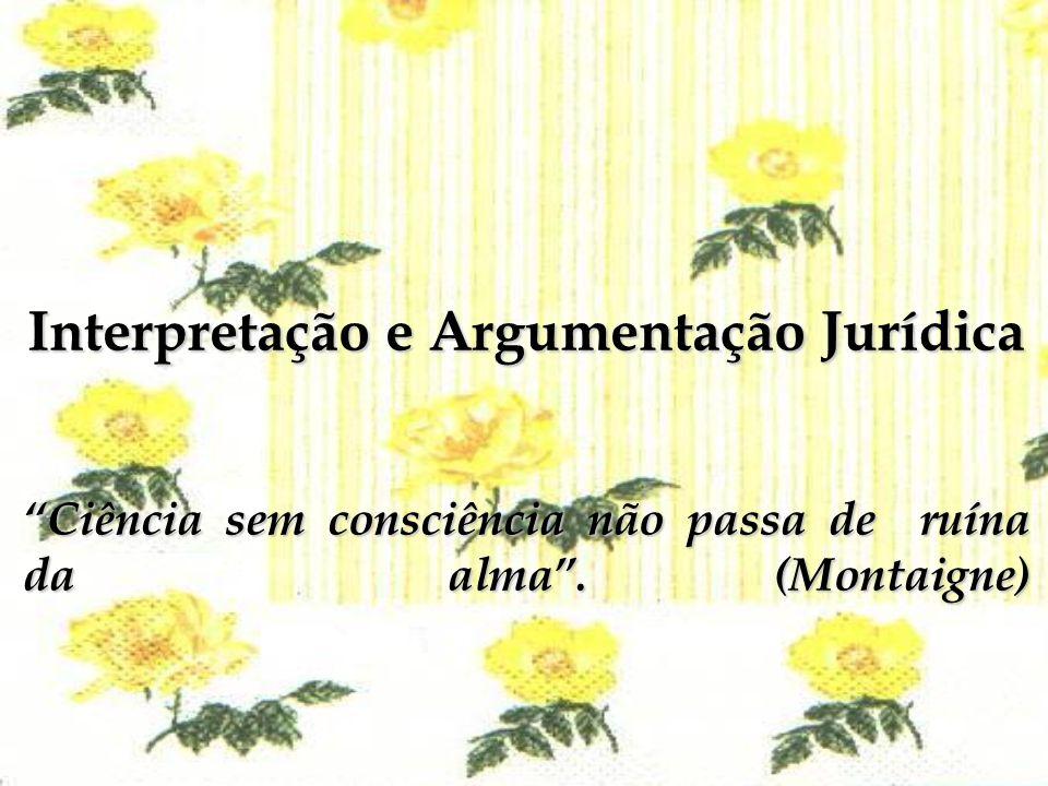 CONTEÚDO PROGRAMÁTICO 1.A linguagem jurídica e sua decodificação 2.Os meios e os modos por que se devem interpretar as leis.