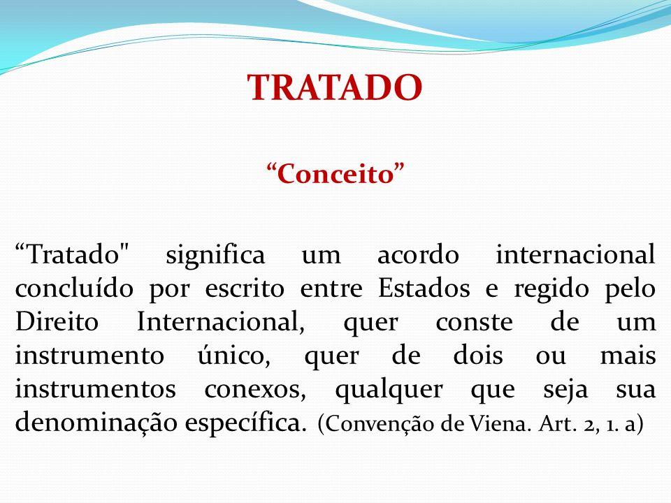 TRATADO Conceito Tratado