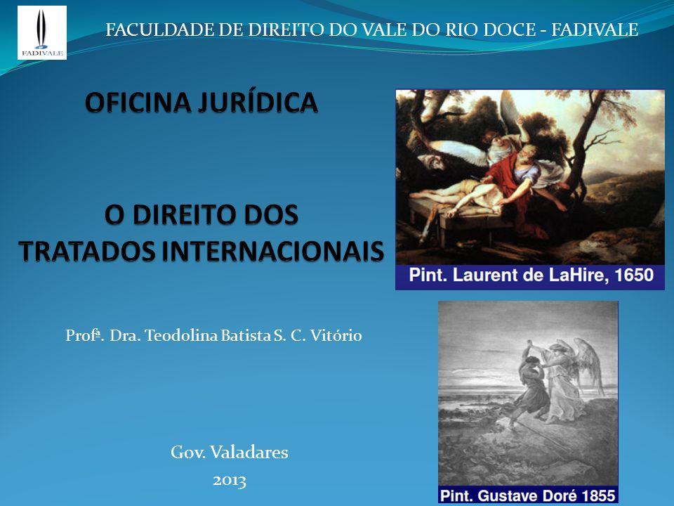 PRINCÍPIOS DAS RELAÇÕES INTERNACIONAIS Art. 4º da Constituição da República