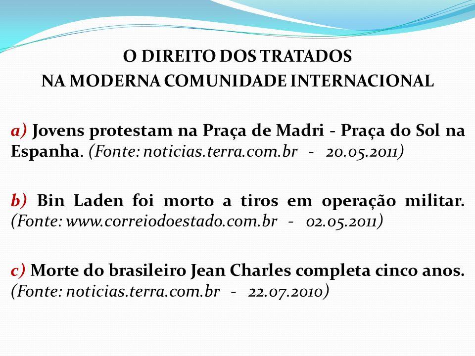 CODIFICAÇÃO DO DIREITO INTERNACIONAL (Art.